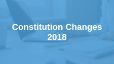 Proposed Constitution Changes 2018