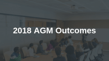 2018 Annual General Meeting Outcomes